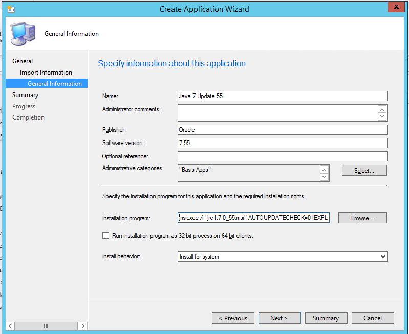 How to install java with SCCM – Mobile-First Cloud-First