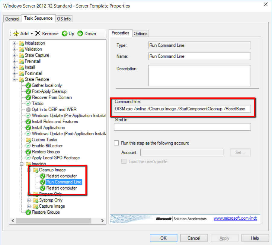 How to create a server template for VMM, Hyper-V or Vmware