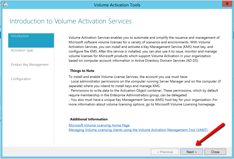 kms volume activation tool