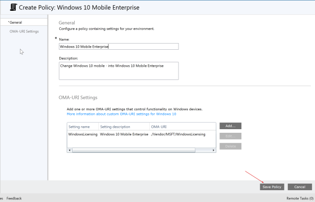 Windows 10 Mobile enterprise - 5