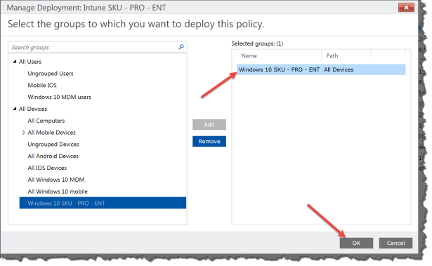 Intune Policy5