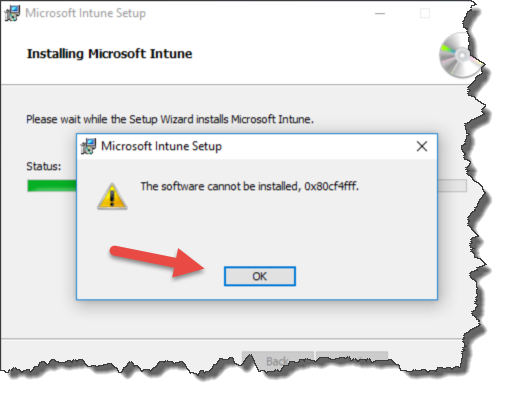 Intune Client Windows 10 1607