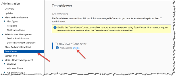 Intune Team Viewer 01