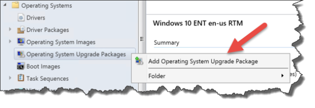 How to upgrade Windows 10 1607 with SCCM 1606 (Inplace Task Sequence
