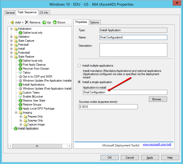 How to show OOBE for AzureAD join after MDT deployment – Mobile