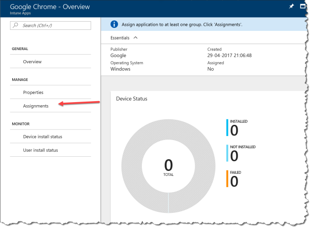 How to deploy MSI with Intune Azure - 10
