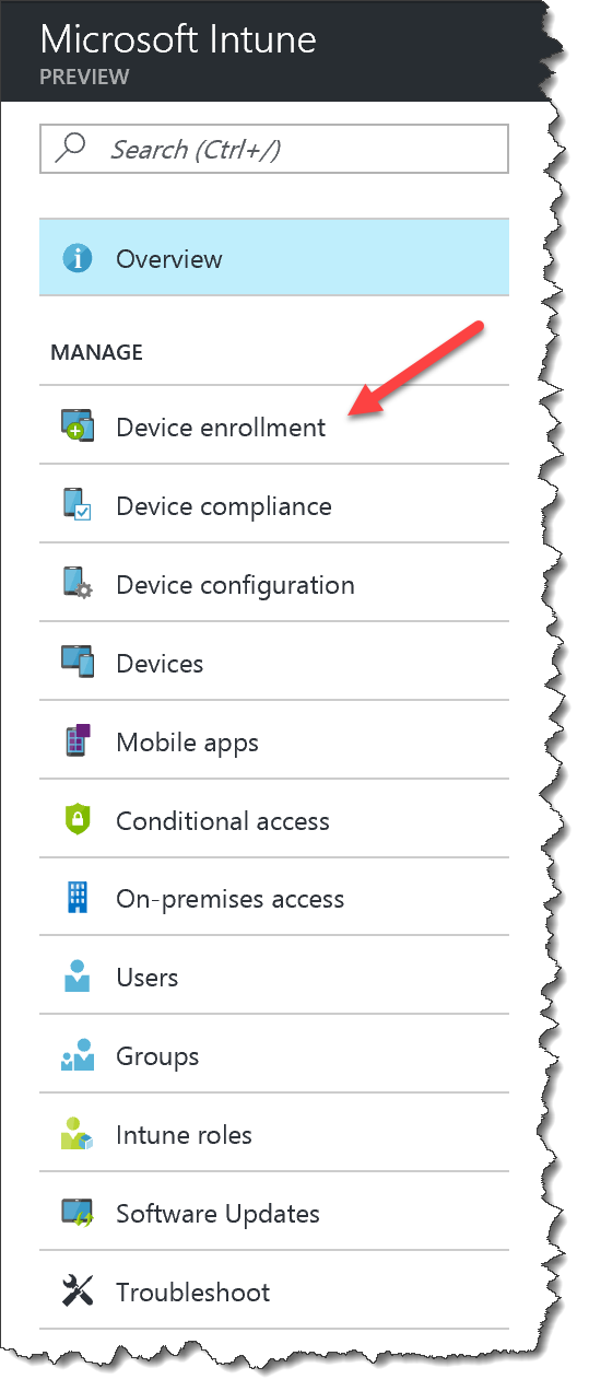 How to setup Apple DEP in Intune - 01