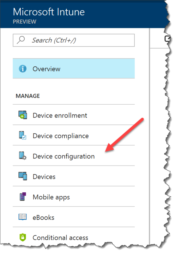Intune Configure Windows Settings - 01