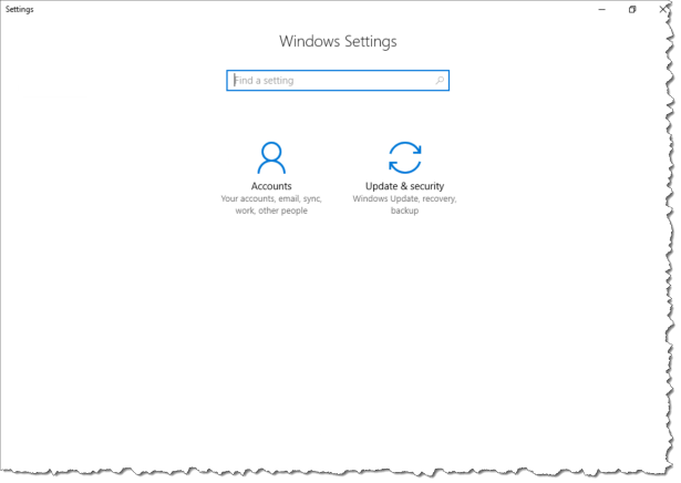 Intune Configure Windows Settings - After policy 01