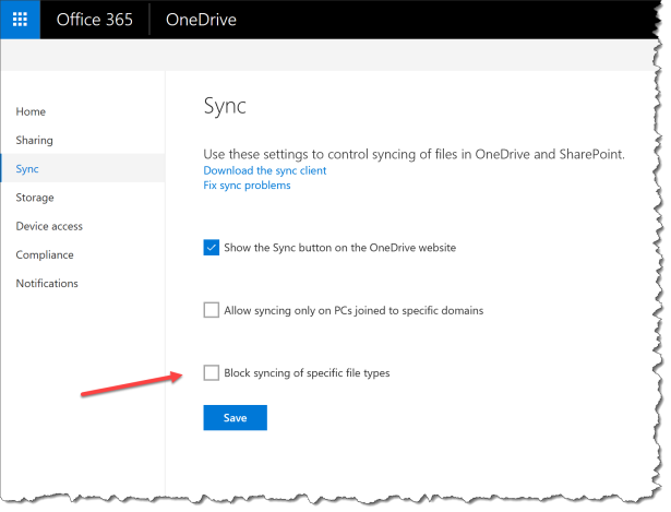 OneDrive - Dont sync Cryptolocker - 02
