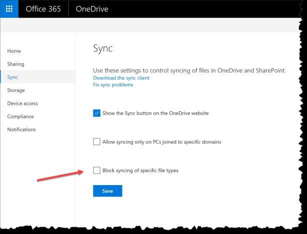 OneDrive - Dont sync Cryptolocker - 02
