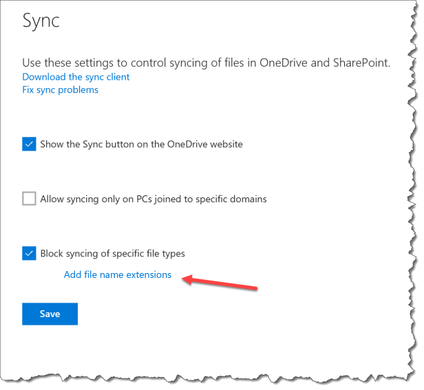 OneDrive - Dont sync Cryptolocker - 03