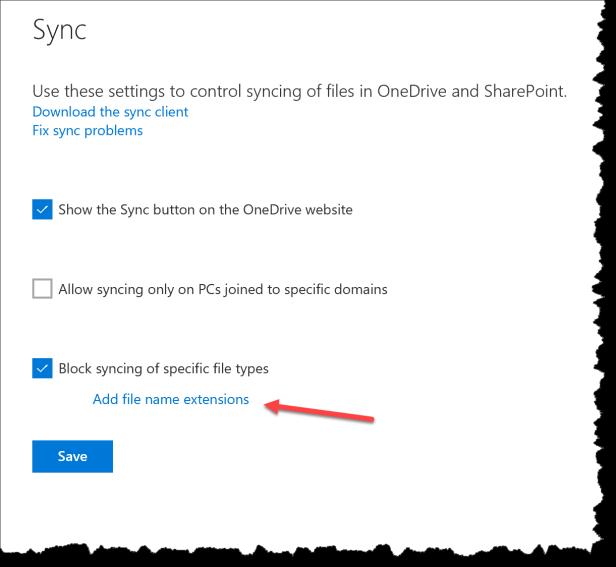 OneDrive - Dont sync Cryptolocker - 03