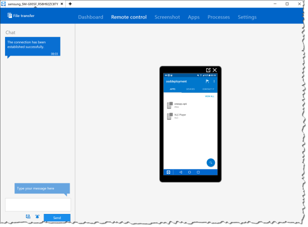 TeamViewer in Intune - Admin view 05