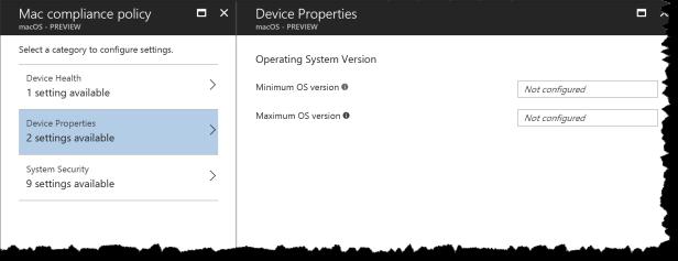 CA - MacOSx - Device Properties