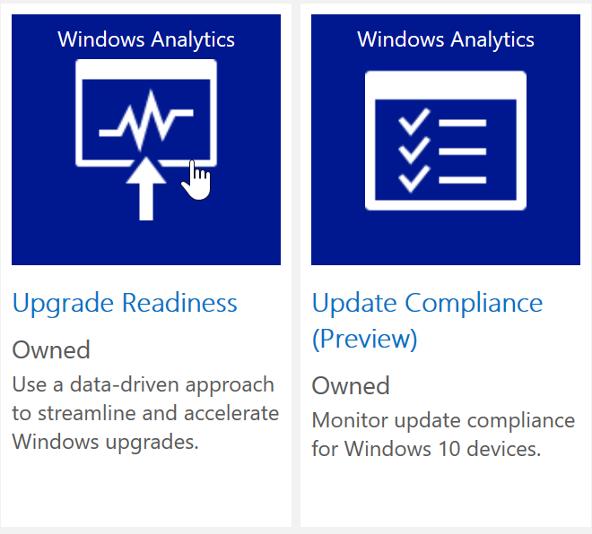 SCCM 1706 new client settings for Windows Analytics – Mobile-First