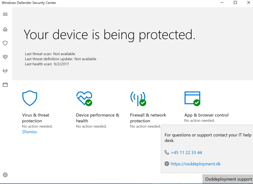 How to configure and customize Windows Defender Security