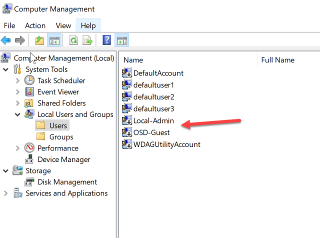 How to setup local security policy with Intune on Windows 10 1709