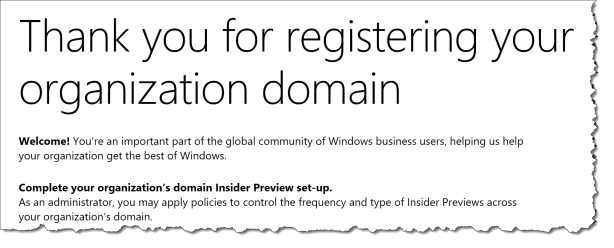 WUfB - Windows Insider - SIgnup - 04