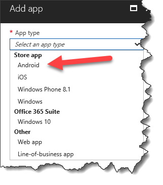Edge on Android with Intune - 02
