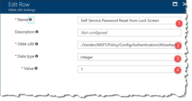 Intune - Reset Password - 04