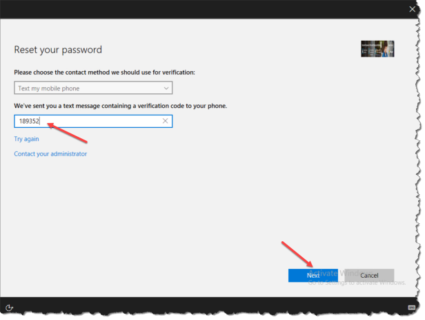 Windows 10 1709 - Reset Password from lockscreen - 05