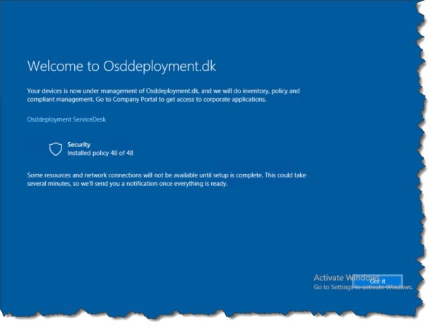 Windows Autopilot Enrollment Status Screen - 07