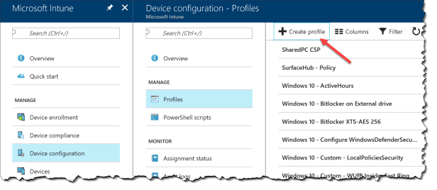 Intune - Enable Application Guard - 01