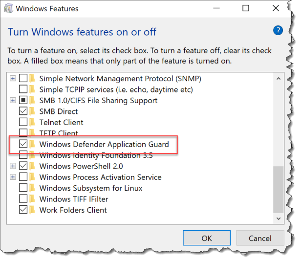 Intune - Enable Application Guard - 03