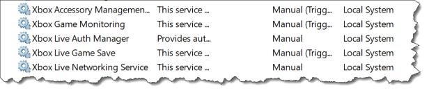 Windows 10 - configure system service - services before