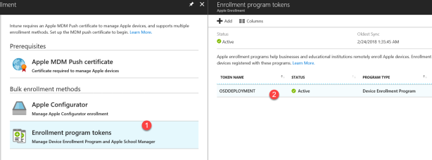 Intune - New Apple enrollment admin expirence - 02