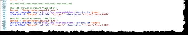 Intune Deploy Microsoft Teams - 11