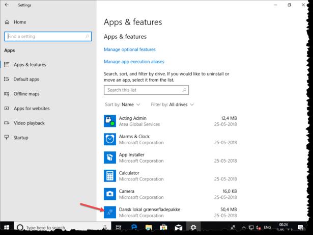 Windows da-DK UE settings app.png