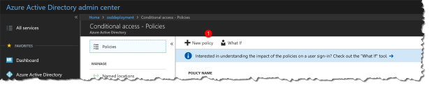 How to get started with Conditional Access – Enable MFA on O365 web