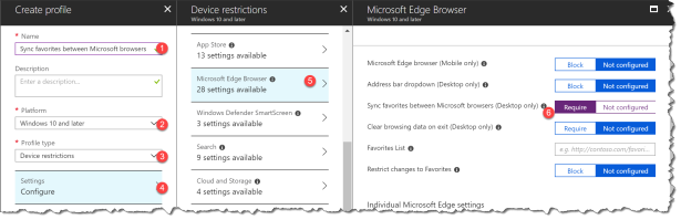 Sync favorites between IE and Edge - 02