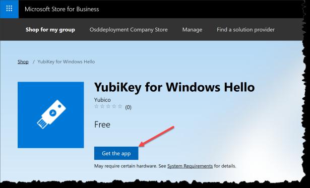 Windows Hallo - Yubikey - 01