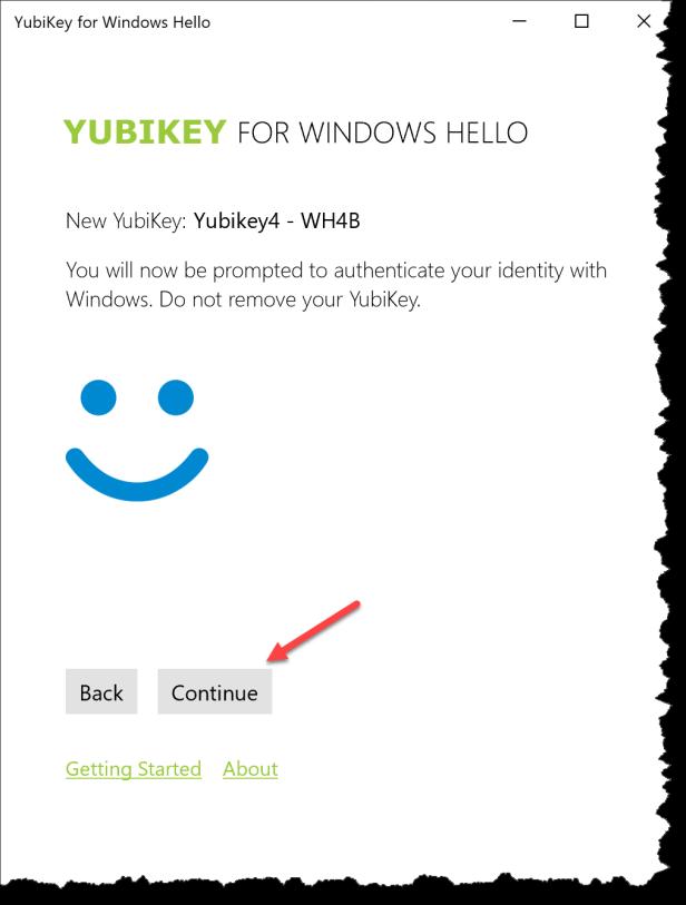 Windows Hallo - Yubikey - 13