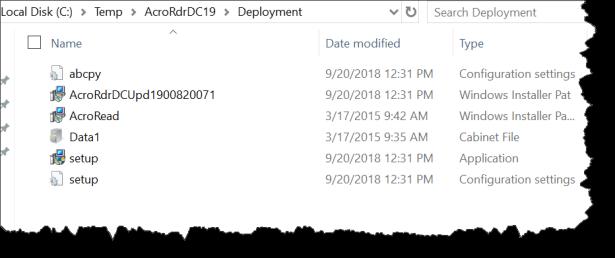 Intune Deployment - Adobe Reader - Win32 - 03