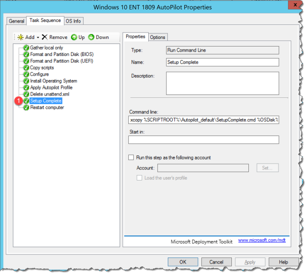 How to deploy Autopilot device fast with MDT – Mobile-First Cloud-First