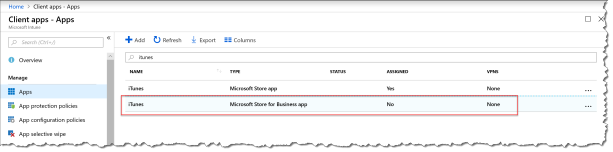Deploy Itunes With Intune - 04a