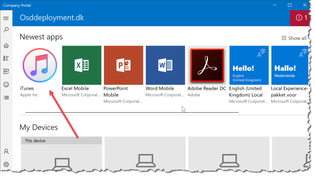 Deploy Itunes With Intune - 05