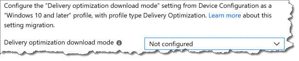 Intune Support tip - Migrate from DO from WUfB - 04