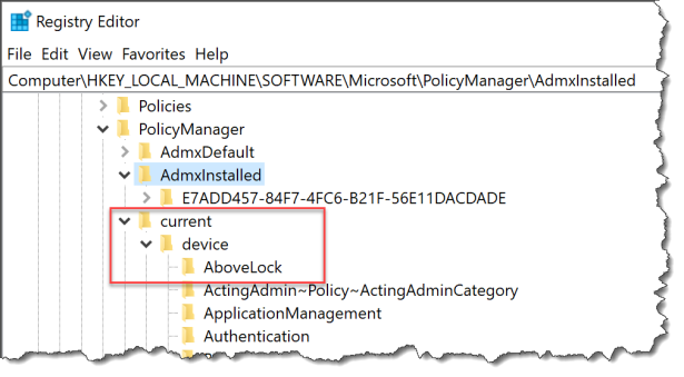 How does a acustom set of ADMX-based work with Intune - 03