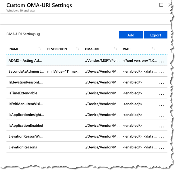 How does a acustom set of ADMX-based work with Intune - 14