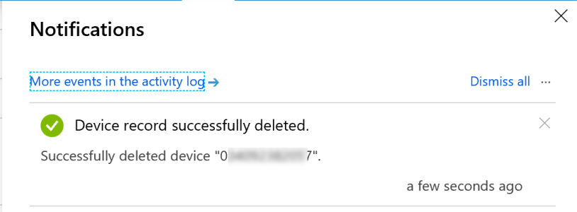 Unable to delete Autopilot device in Intune – Mobile-First Cloud-First