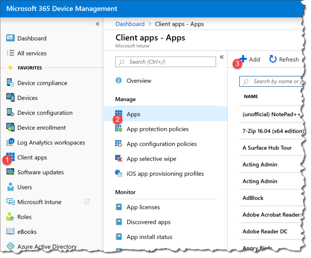 Deploy O365 - Custom xml with Intune - 01