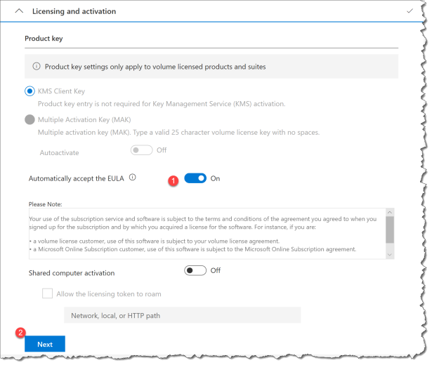 Deploy O365 - Office Customization Tool - 05