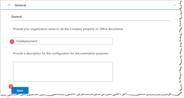 Deploy O365 - Office Customization Tool - 06