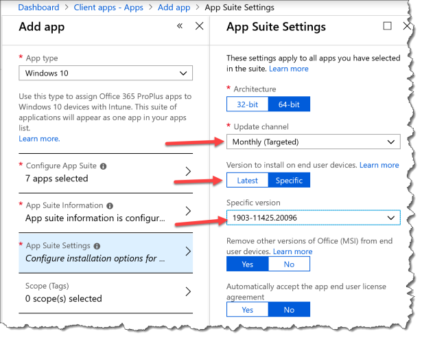 Deploy O365 ProPlus With Teams from Intune - 22