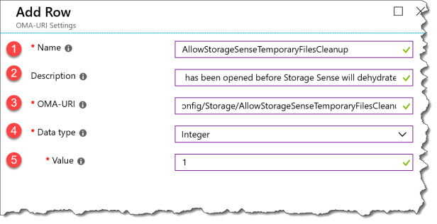Storage Sense - Intune CSP - 03